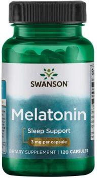 Swanson Melatonin 3 Milligrams 120 Capsules