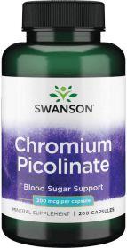 Swanson Хром пиколинат(200mcg) 100 капс.