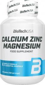 Biotech USA Calcium Zinc Magnezium