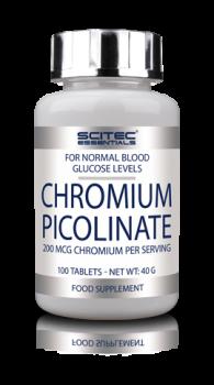 SCITEC NUTRITION CHROMIUM PICOLINATE, 100 ТАБ.