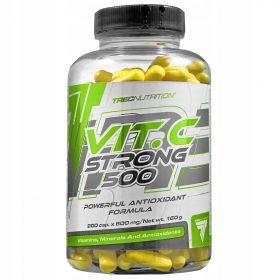 VIT.C STRONG 500 ОТ TREC NUTRITION ( 200 CAPS)