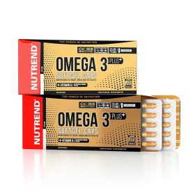 NUTREND OMEGA 3 PLUS SOFTGEL CAPS  120 капсул