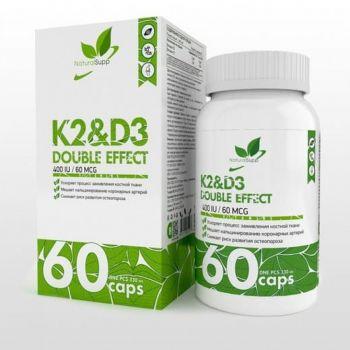 Комплекс витамин K2 & D3 NaturalSupp (60 капсул)