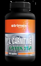 STRIMEX L-CARNITINE + GREEN TEA, 160 КАПС