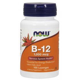 Витамин B-12 1000 mcg от NOW Foods (100 жевательных таб)