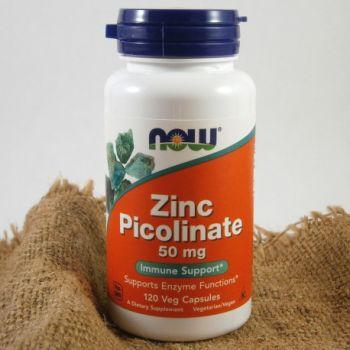 NOW zinc picolinate 50 mg 60 tab