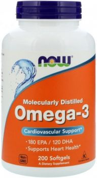 NOW Foods Omega-3 (200 caps)