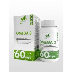 Омега-3 (Omega-3) NaturalSupp, 60 капсул