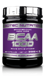 SCITEC NUTRITION BCAA 1000, 300 КАПС