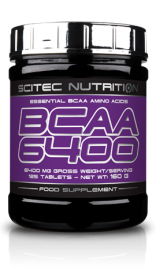 SCITEC NUTRITION BCAA 6400, 125 ТАБ.