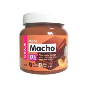 CHOCO MACHO Шоколадная паста с кокосом и кешью