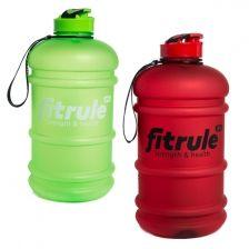 Бутыль FitRule прорезиненной крышкой  2.2 литра
